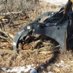 Skid Steer Brush-Grapple-Attachment-in-Action-Virnig-Manufacturing