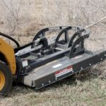 Virnig-Industrial-Rotary-Cutter-Skid-Steer-Brush-Cutter-Attachment-cutting-trees