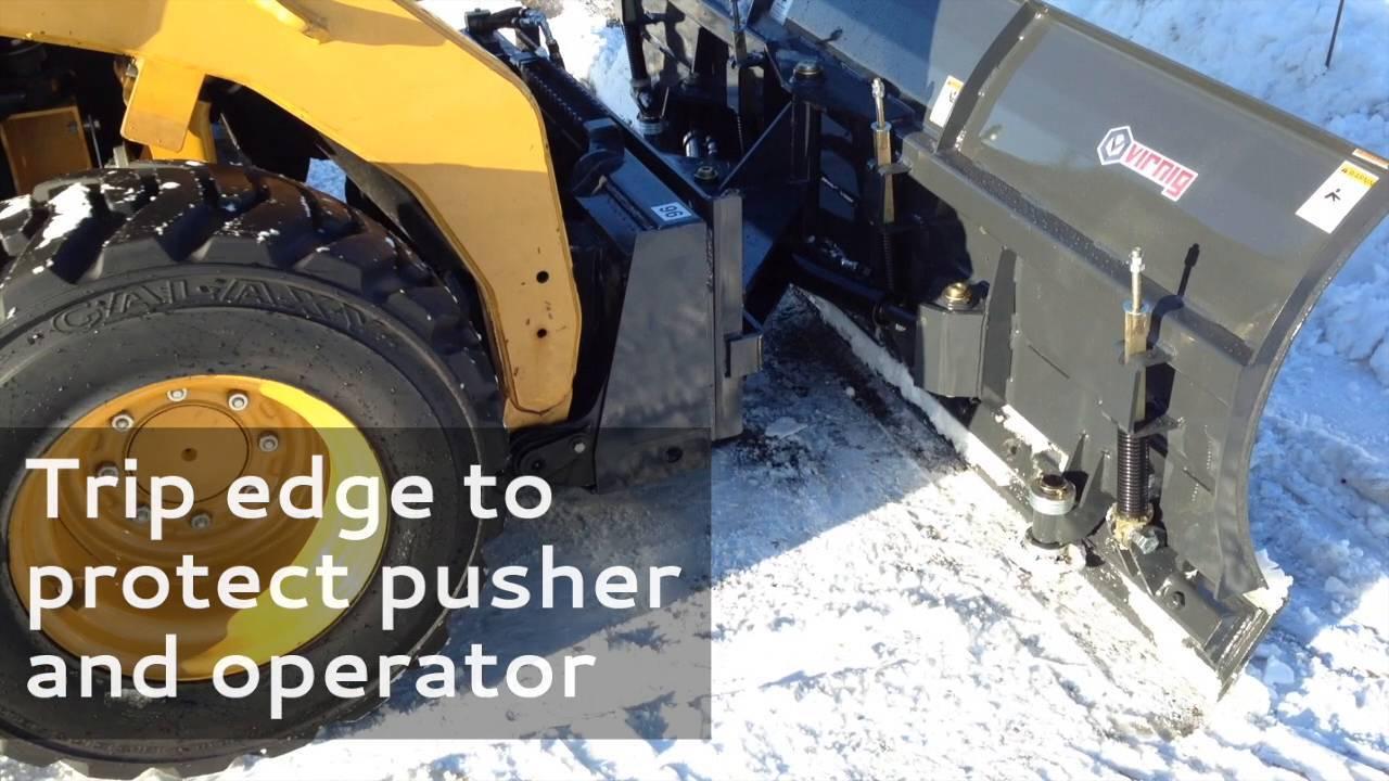 V60 Steel Edge Snow Pusher
