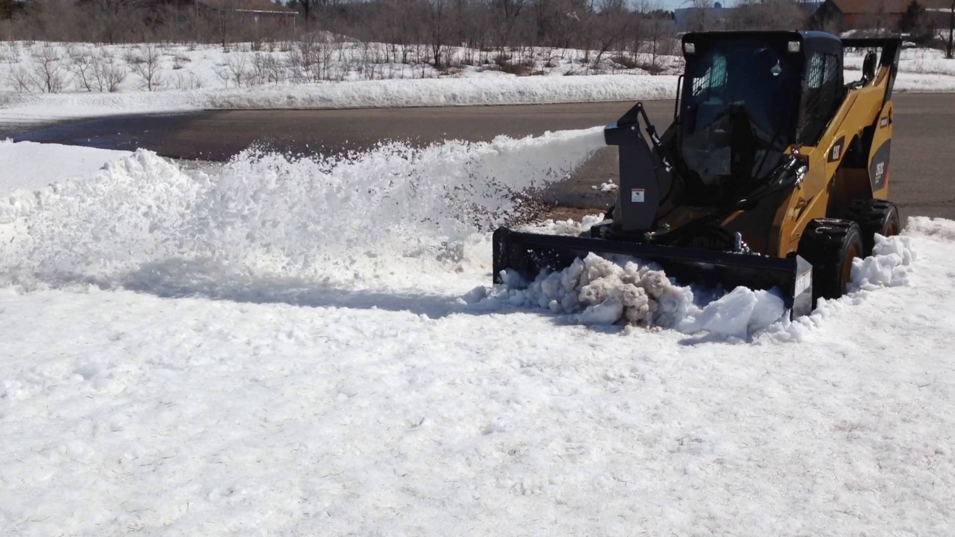 V60 Snow Blower