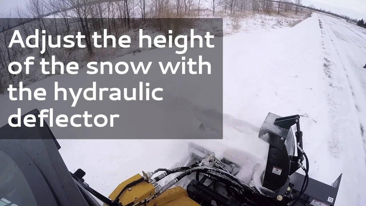 V50 Snow Blower