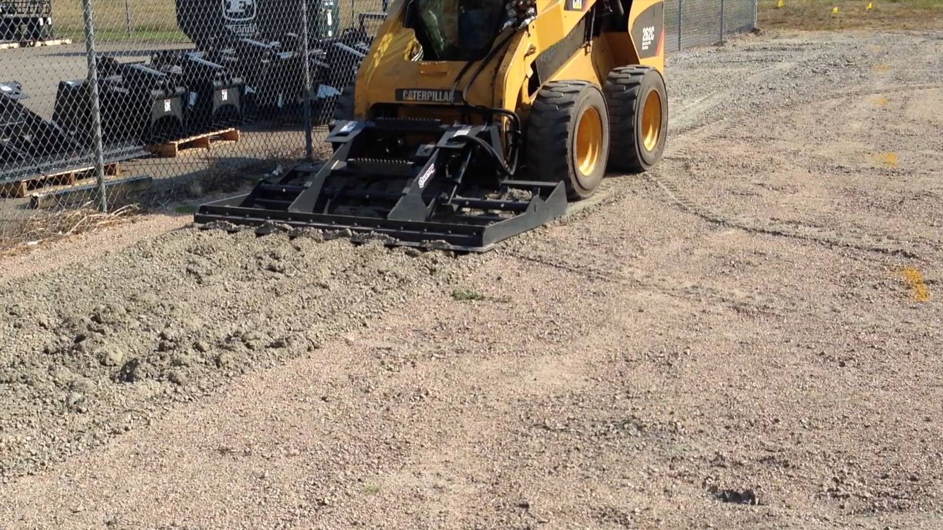Land Leveler with Scarifier Option