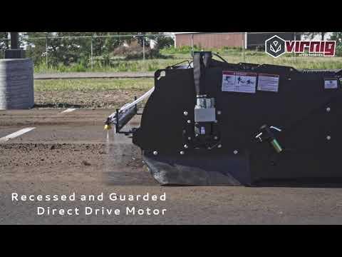 Pick-Up Broom - Internal Water Tank