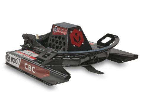 V20 Mini Skid Steer Open Front Rotary Brush Cutter